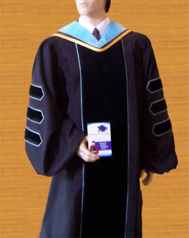 Academic regalia, doctoral gowns and PhDRegalia
