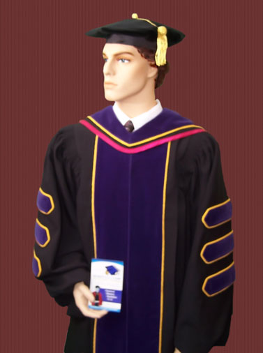 JD doctoral gowns