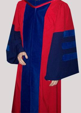 Penn doctoral gown