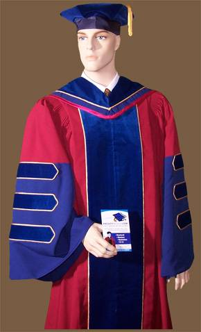 Penn PhD doctoral gown