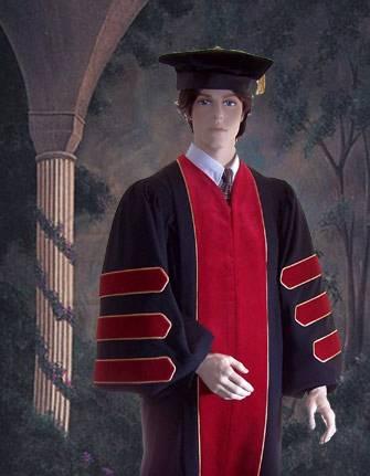 Academic dress hood colors for public health