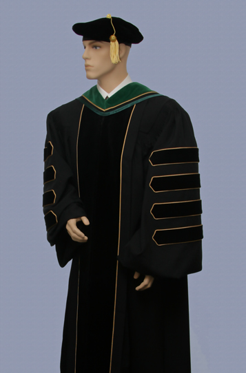 president's dr gown