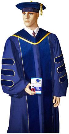 UCLA PhD gown