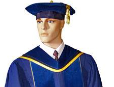 ucla graduation gown and hood